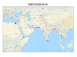 Airport data of the key areas along One Belt One Road (2015)