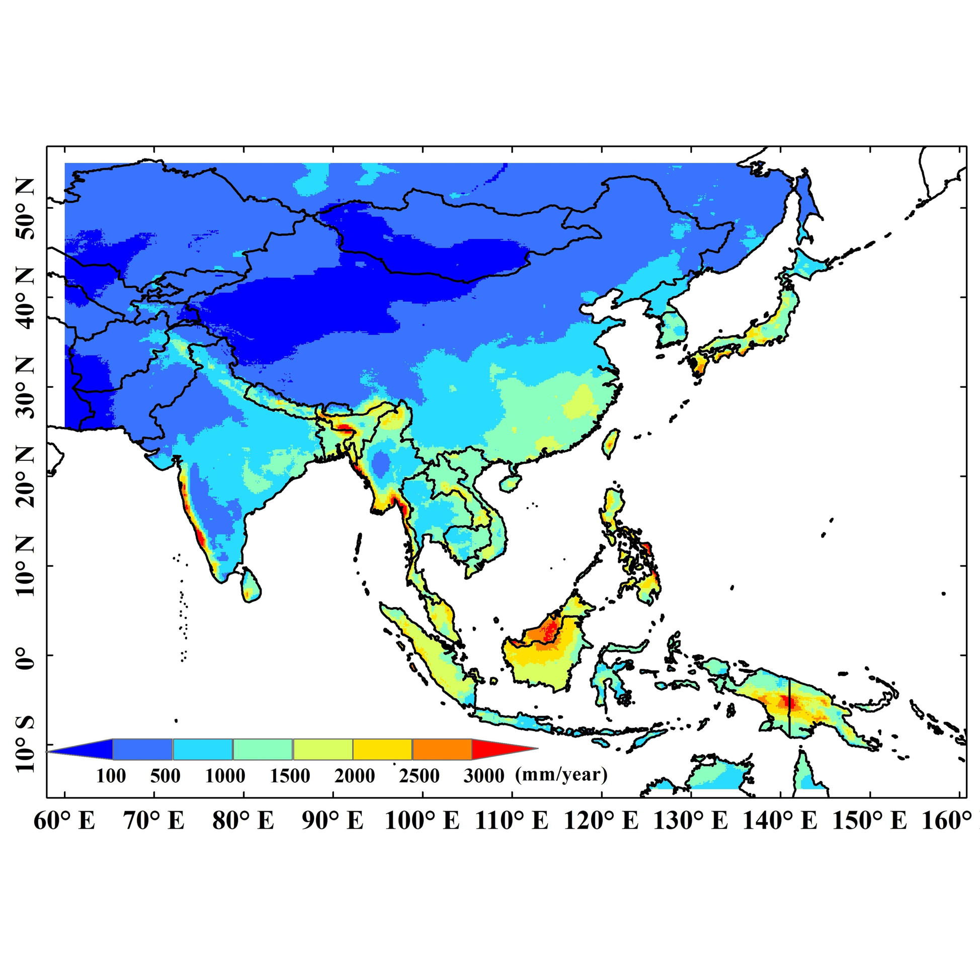 Asian precipitation dataset with high quality and spatiotemporal resolution (AIMERG, 0.1°, half-hourly, 2000-2015)