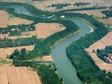 Water use efficiency impact data of industrial transformation scheme in Heihe River Basin