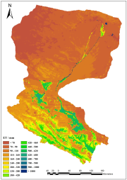 Monthly evapotranspiration dataset with 1 km spatial resolution over the Heihe River Basin Version 2.0 (2000-2013)