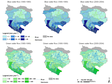 Spatial and temporal patterns of green and blue water flows in the Heihe River Basin