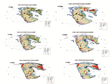 Jurassic climatic, lithofacies paleogeography map of Pan third pole