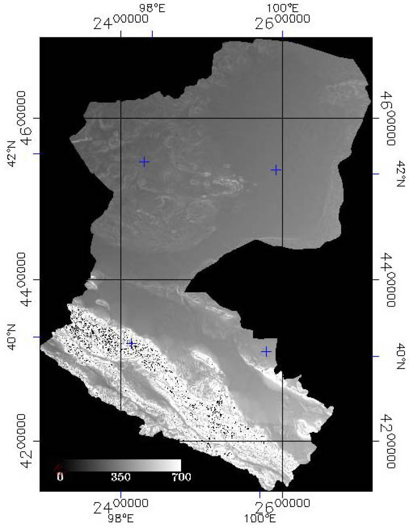 Hourly solar radiation dataset over the Heihe River Basin (2002)
