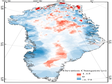 Greenland ice sheet elevation change data V1.0 (2004-2008)