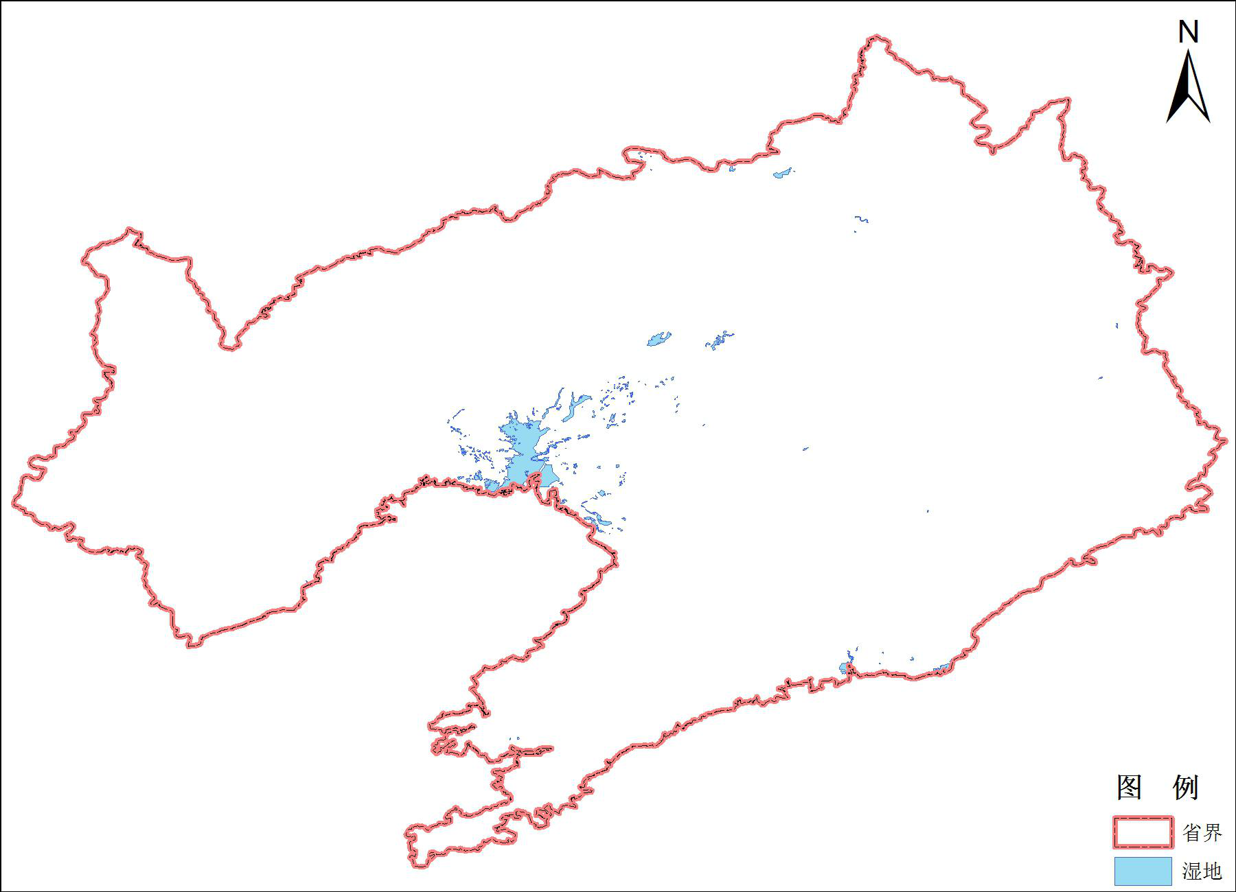 1:1 million wetland data of Liaoning province (2000)
