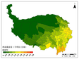 Sustainable livestock carring capacity and overgrazing rate of grassland over Qinghai-Tibet plateau since 1980