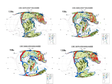 Paleogeographic map of paleoclimate, lithofacies and Cretaceous of Pan tertiary (130mA, 90mA)
