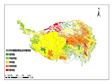 Eco environmental risk map of the development of agriculture and animal husbandry in the next 50 years in the Qinghai Tibet Plateau (2030, 2050, 2070)