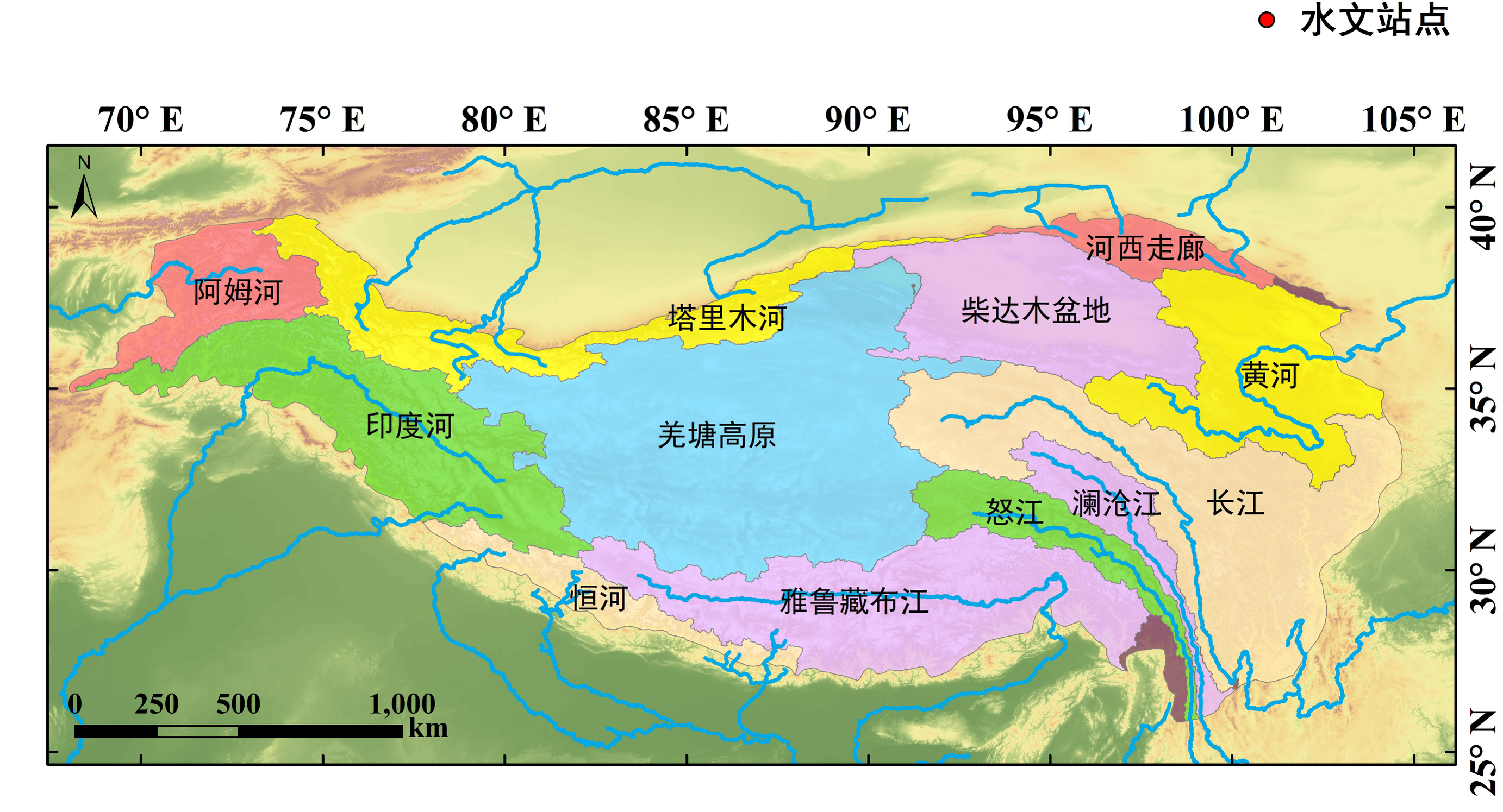 The dataset of spatio-temporal water resources distribution in the source regions of Yangtze River and Yellow River (1998-2017)