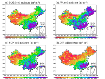 The soil moisture dataset of China based on microwave data assimilation (2002-2011)
