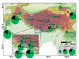The dataset of OC and BC/EC in TIbetan Plateau and surrounding areas