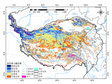 A permafrost thermal type map on the Tibetan Plateau (2000-2010)