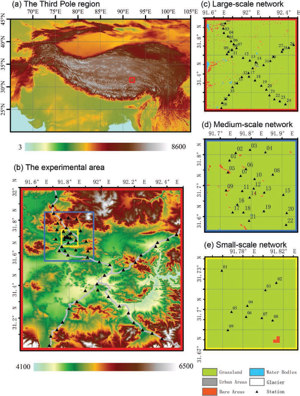Time-lapse observation dataset of soil temperature and humidity on the Tibetan Plateau (2008-2016)