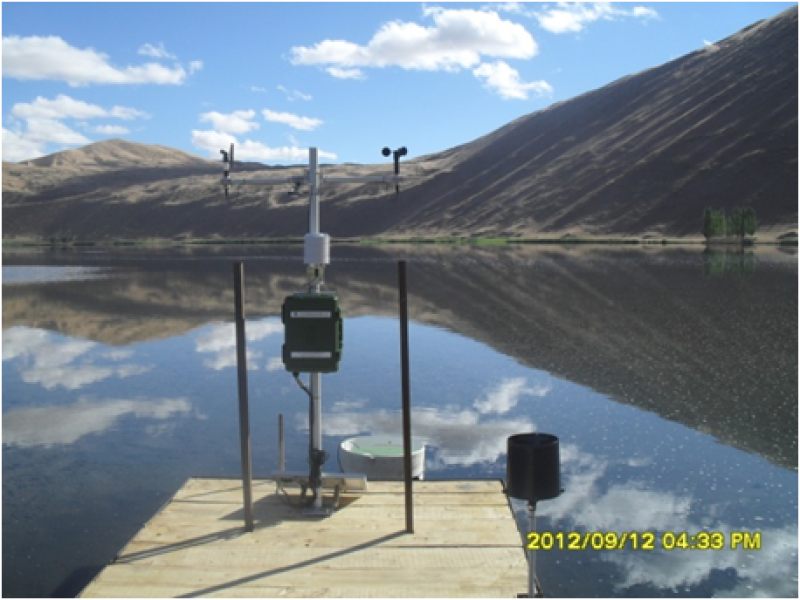 Dataset of the synthetic monitoring station at the small cachment of Sumu Jaran Lakes